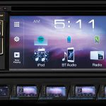 6.1 Inch Touchscreen Display Audio with Bluetooth & HFT Function