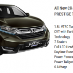 Honda CR-V 1.5L Prestige Turbo