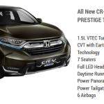 Honda CR-V 1.5L Prestige Turbo
