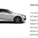 Honda Civic Hatchback S