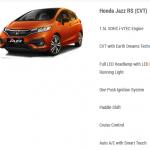 Honda Jazz RS CVT